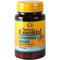 GINSENG - Roter Panax Ginseng 50 Kapseln