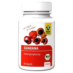GUARANA 80 Kapseln à 500 mg, Bio