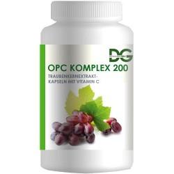 Экстракт виноградных косточек (OPC) с витамином С, 60 капсул