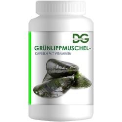 Новозеландская зеленая ракушка с витаминами (GRÜNLIPPMUSCHEL), 60 капсул