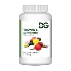 Витамины и минералы, 90 таблеток, улучшенная формула