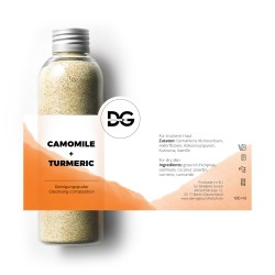 CAMOMILE+TURMERIC CLEANSING...