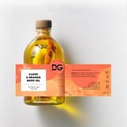CLOVE & ORANGE BODY OIL